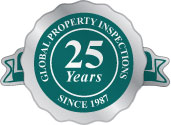 Global Property Inspections - 25 Years Seal